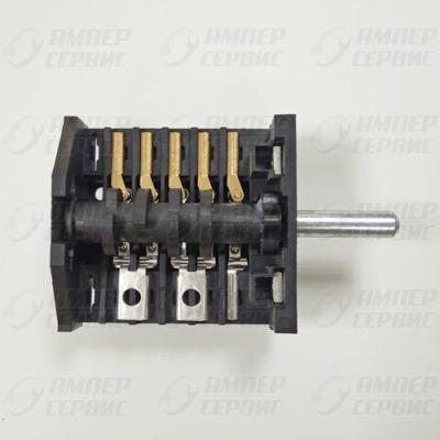 Переключатель 5 позиций 250V 16A 5E4 EP059