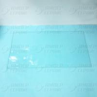 Полка-стекло (49х26) холодильника Атлант 280050306200