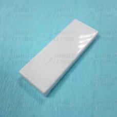 Накладка-толкатель ручки холодильника Liebherr (Либхерр) белая 7426362