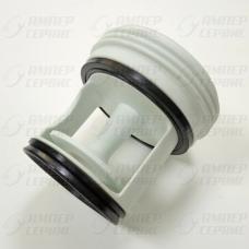 Заглушка-фильтр насоса для стиральных машин Candy 41004157