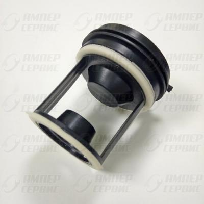 Заглушка-фильтр насоса для стиральных машин Indesit, Ariston (Индезит, Аристон) WS061 (C00045027, FIL001AR) для C00092264
