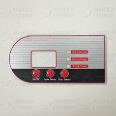 Стикер на панель управления FD (04) 66730