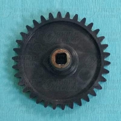 Шестерня мясорубки Ротор черная средняя RT004