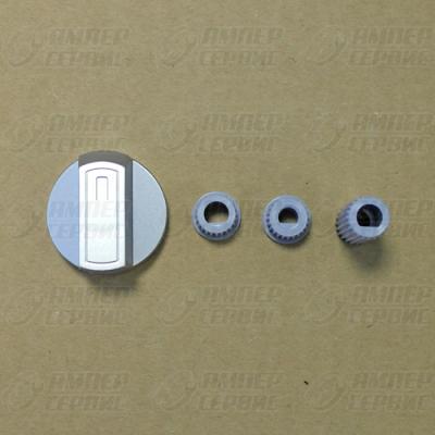 Ручка универсальная для плиты серебристая (от комплекта WL1030) 43CU008