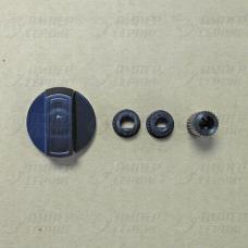 Ручка универсальная для плиты черная (от комплекта WL1034) 43CU010