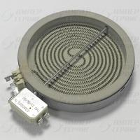 Конфорка стеклокерамика D165/145mm 1200W для плит Whirlpool (Вирпул) 481231018887, 327340
