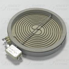 Конфорка стеклокерамика D200mm 1700W Whirlpool, Bauknecht, Ikea ( Вирпул, Баукнехт, Икея) 481231018889