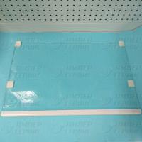 Полка стеклянная нижняя с обрамлением холодильника Атлант 371320307100