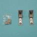 Кронштейны ручек Liebherr (Либхерр) серебро ремкомплект 9590124