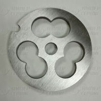 Решетка для рубки мяса D54мм (3 отверстия) Bosch, Braun, Zelmer, Philips (Бош, Браун, Зелмер, Филипс) BR013, BS018