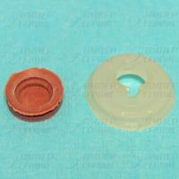 Ремкомплект шнека мясорубки Гамма 7 (втулка+манжета) GAM004