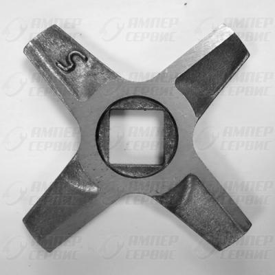 Нож мясорубки Zelmer (Зелмер) N5 двусторонний  ZL016
