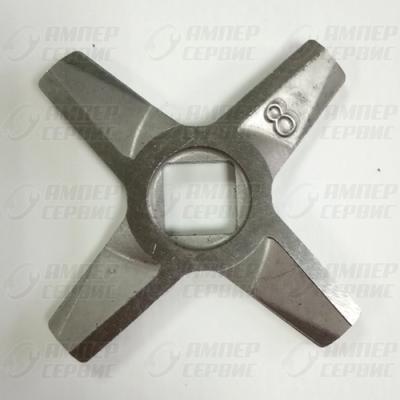 Нож мясорубки Zelmer (Зелмер) N8 двусторонний ZL017