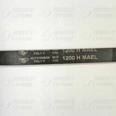 Ремень 1200 H MAEL (8) для стиральных машин Hutchinson 46007433, 72120000, 46000003, AV09247