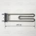 ТЭН 1950W (прям. L=245) для стиральных машин TW 815850, 91201638 без отв.