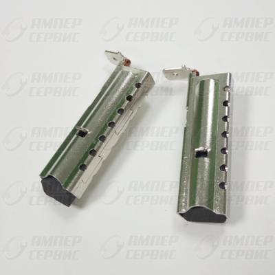 Щетки угольные СМА 5x12.5 (комплект 2шт в металлической оправе) для стиральных машин CAR042