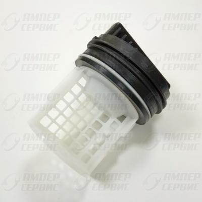 Заглушка-фильтр насоса для стиральных машин Samsung, Haier (Самсунг, Хаер) WS068 (DC97-09928A)